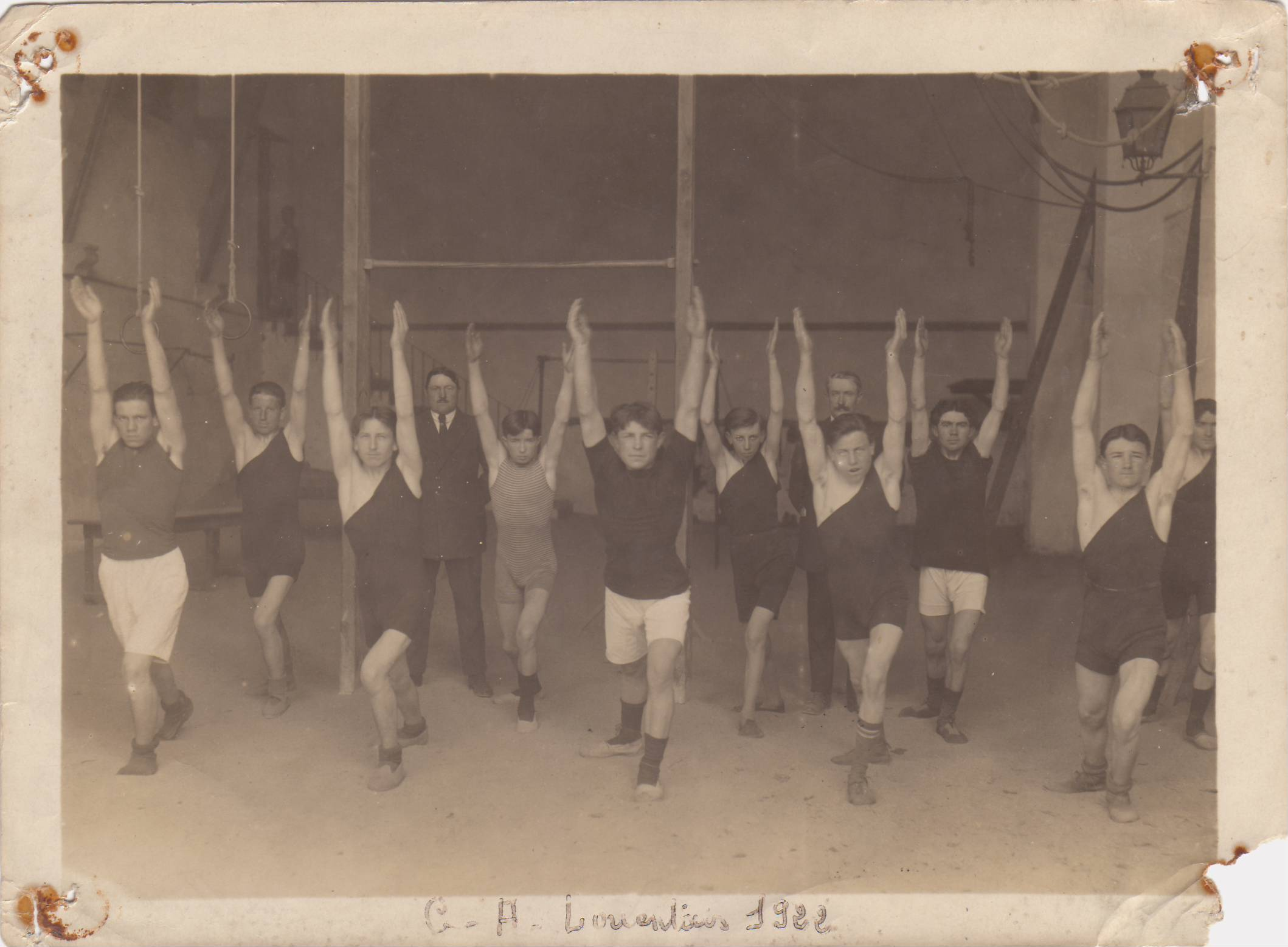 Section Gym en 1922